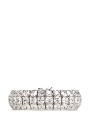 Cz By Kenneth Jay Lane 'Bombay' Cubic Zirconia Pave Bracelet White