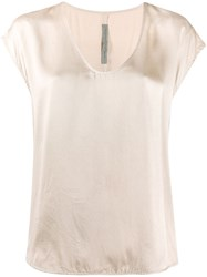 Raquel Allegra Shell Shirt Neutrals