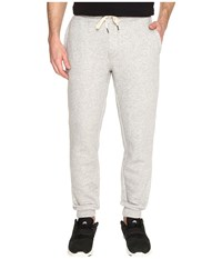 Original Penguin Elasticated Fleece Jogger Pants Rain Heather Men's Casual Pants Gray