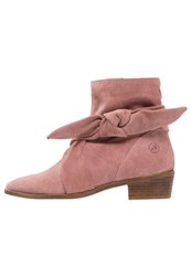 Bronx Boots Dusty Pink Rose