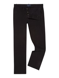 Criminal Stanley Slim Leg Chino Black