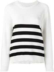 Peter Jensen Yarn Jumper White