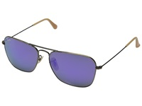 Ray Ban Rb3136 58Mm Brushed Bronze Demi Shiny Fashion Sunglasses Purple