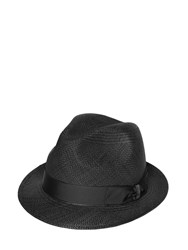 Borsalino Panama Straw Quito Small Brim Hat