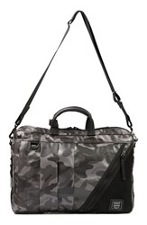 Harvest Label Men's 'Nighthawk' Briefcase Green Camo