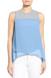 Women's Vince Camuto Asymmetrical Sleeveless Blouse Tonic Water