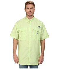 Columbia Super Bonehead Classic S S Shirt Jade Lime Oxford Men's Short Sleeve Button Up Green