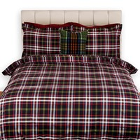 Gant Tupper Check Duvet Cover Navy Super King