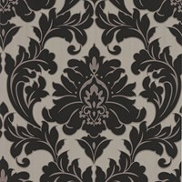 Graham And Brown Majestic Wallpaper Sample Swatch Black Gold Sample
