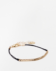 Pieces Krul Chain And Cord Fine Bracelet
