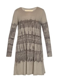 Raquel Allegra Long Sleeved Tie Dye Dress