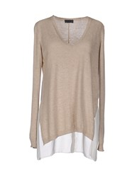 Hack Sweaters Beige