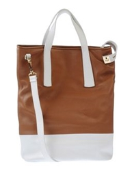 Space Style Concept Handbags Brown