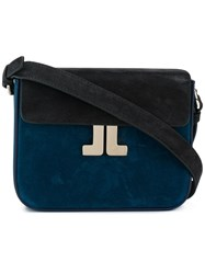 Lanvin Jl Satchel Bag Blue