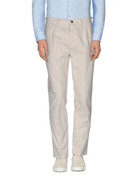 People Trousers Casual Trousers Men Ivory
