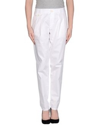 Strenesse Blue Casual Pants White