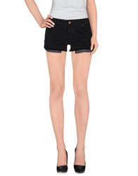 Maison Clochard Denim Denim Shorts Women Black