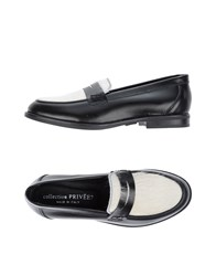 Collection Privee Priv E Footwear Loafers Ivory
