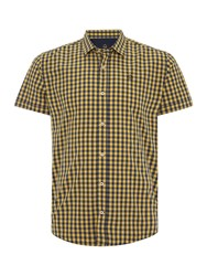 Duck And Cover Farley Ss Shirt Yellow