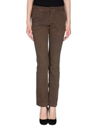 Unlimited Casual Pants Dark Brown