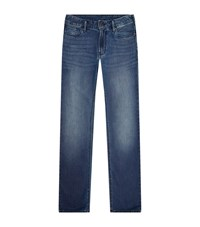 Armani Jeans Red Turn Up Male Blue