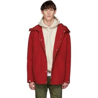 Nonnative Red Hiker Hooded Jacket