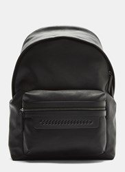 Stella Mccartney Falabella Chain Detail Backpack Black