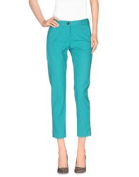 Pence Trousers 3 4 Length Trousers Women Turquoise