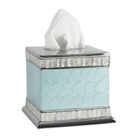 Julia Knight Classic Tissue Box Aqua