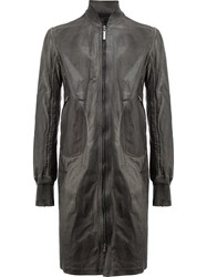 Isaac Sellam Experience Zip Up Coat Grey