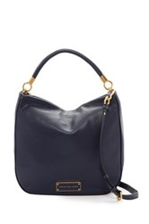 Marc By Marc Jacobs Leather Hobo Blue