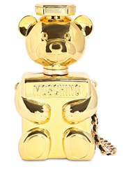 Moschino Teddy Perfume Case Shoulder Bag Gold