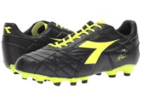 Diadora M. Winner Rb K Plus Mg14 Black Yellow Flourescent Soccer Shoes Multi