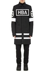 Hood By Air Box Logo Duster Coat Black