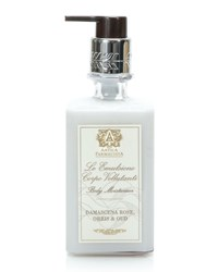 Damascena Rose Orris And Oud Body Moisturizer 10 Oz. Antica Farmacista
