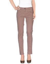 Alysi Trousers Casual Trousers Women Light Brown