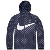 Nike X F.C. Real Bristol Polka Dot Practice Jacket Obsidian And White