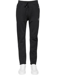 Dolce And Gabbana Crown Crest Cotton Jogging Pants