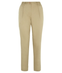 People Tree Clara Chino Trousers Beige