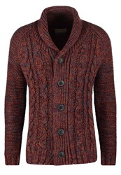 Petrol Industries Cardigan Burgundy Bordeaux