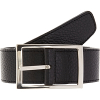 Simonnot Godard Reversible Grained Belt Black