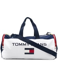 Tommy Jeans 90S Duffle Holdall Bag White