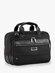 Briggs And Riley Atwork Small Expandable Brief Black