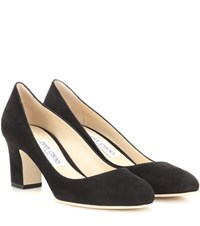 Jimmy Choo Billie 65 Suede Pumps Black