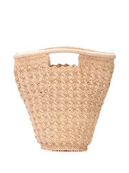 Carrie Forbes Lily Bucket Bag Neutrals