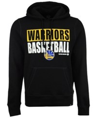 47 Brand '47 Men's Golden State Warriors Knockaround Headline Pullover Hoodie Black