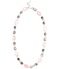 Viyella Shell Pearl And Bead Long Necklace