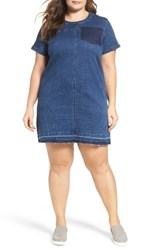 City Chic Plus Size Women's Denim Darling Shift Dress
