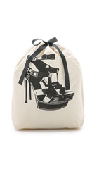 Bag All High Heel Sandal Organizing Bag Natural Black