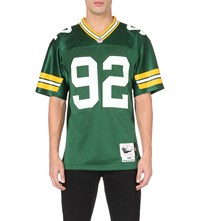 Mitchell And Ness Reggie White Mesh Jersey Top Green